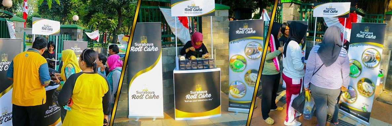 Tempat Oleh Oleh Surabaya Roll Cake