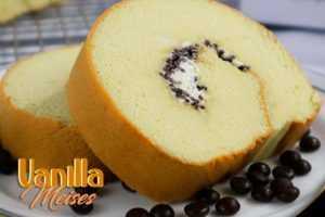 Khas Surabaya Roll Cake Vanilla Meises