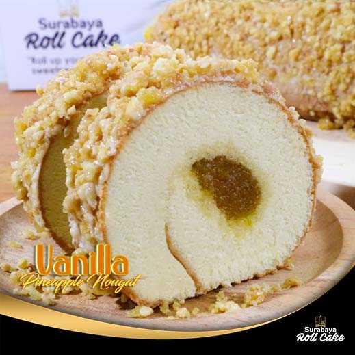 Oleh oleh Surabaya Vanilla Nanas Nougat