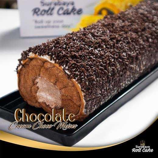 Oleh Oleh Khas Surabaya Roll Cake Chocolate Cream Choco Meises