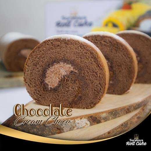 Oleh Oleh Khas Surabaya Roll Cake Chocolate Cream Choco