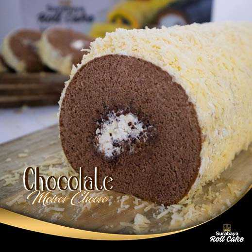 Oleh Oleh Khas Surabaya Roll Cake Chocholate Meises Cheese