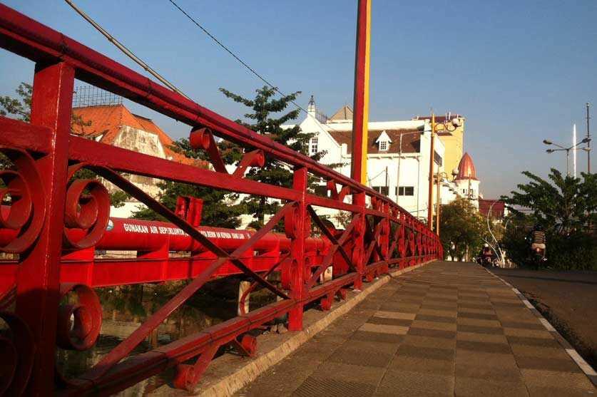 Jembatan Merah Surabaya Sekarang