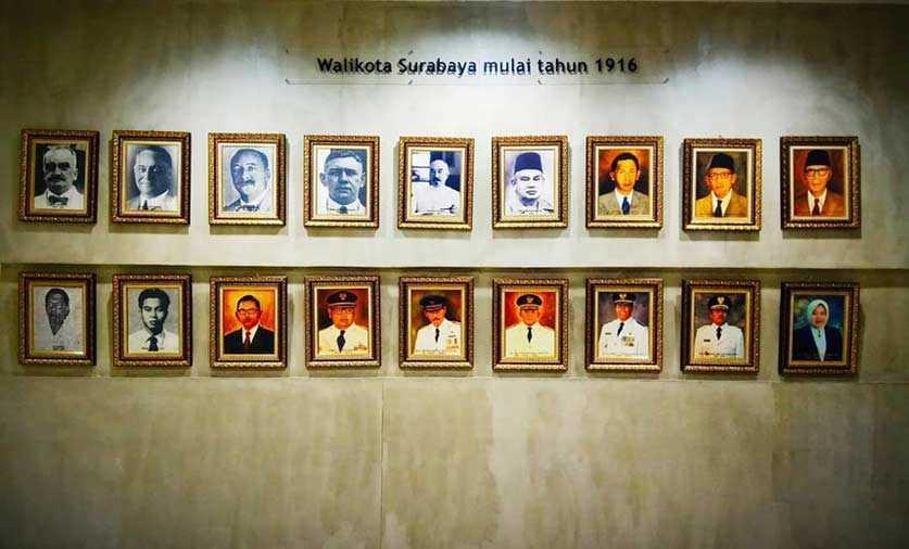 Walikota Surabaya Sejak 1916