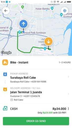 Delivery oleh oleh khas surabaya online