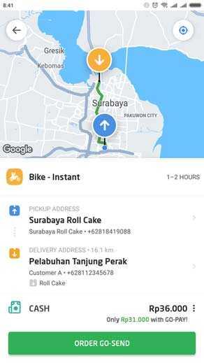 Delivery oleh oleh surabaya online