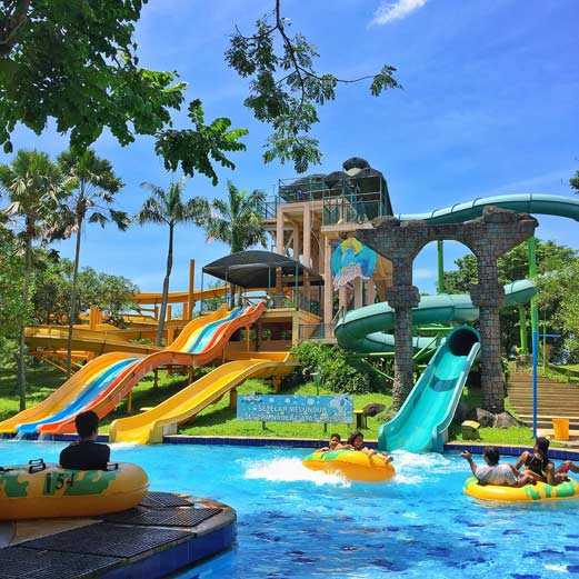 Rock Tower Ciputra Waterpark Surabaya