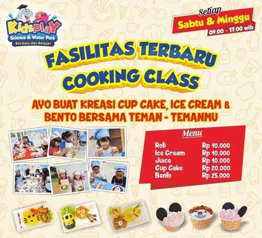 Cooking Class di Kids Play Surabaya