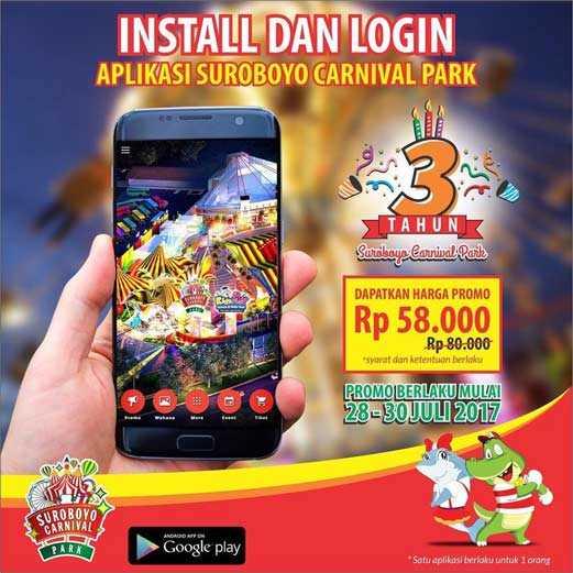 Promo Tiket Masuk Surabaya Carnival Park