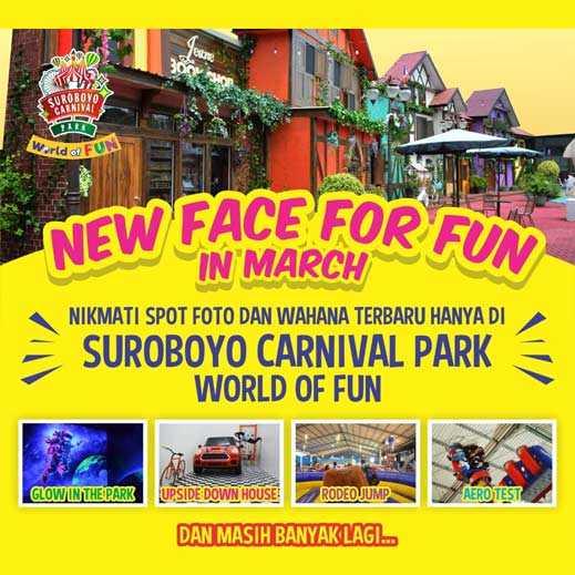 Wahana Baru Surabaya Carnival 2019
