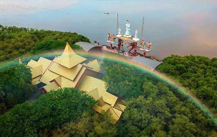 Lokasi Klenteng Sanggar Agung Surabaya