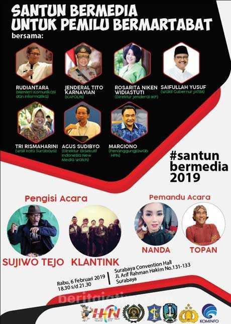 Acara Hari Pers Nasional 2019
