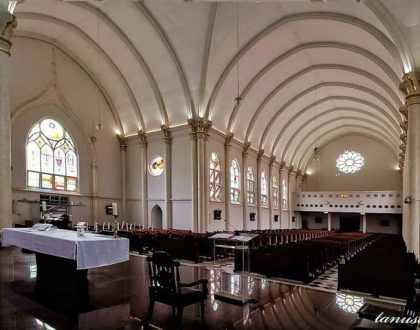 Arsitektur Gereja Kepanjen Surabaya