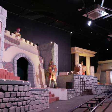 Wahana Misteri Atlantis Land