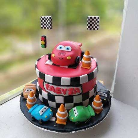Birthday Cake Car Lucu