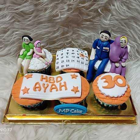 Kue Ulang Tahun Untuk Ayah / Papa
